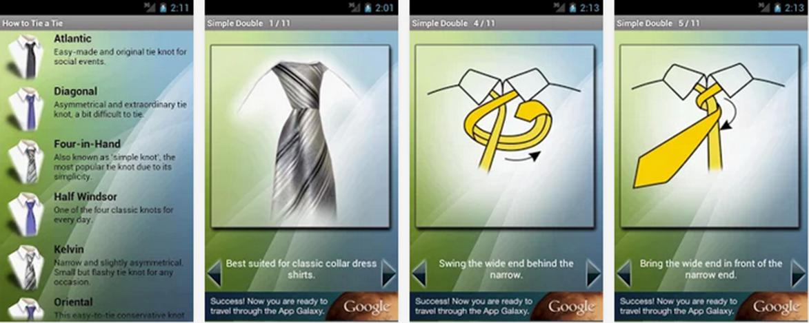 Cómo hacer un nudo de corbata, una pajarita y plegar un pañuelo de bolsillo