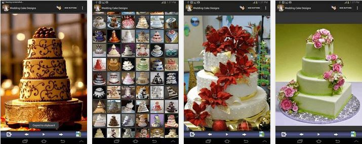 Las mejores App para Bodas Wedding Cake Design