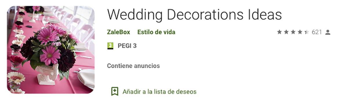 Mejores App Bodas Wedding Decorations Ideas