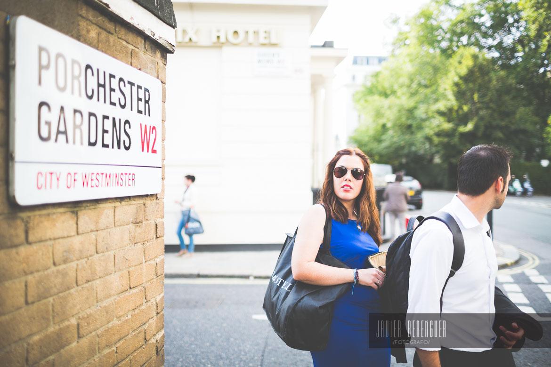 Reportaje Post Boda Londres
