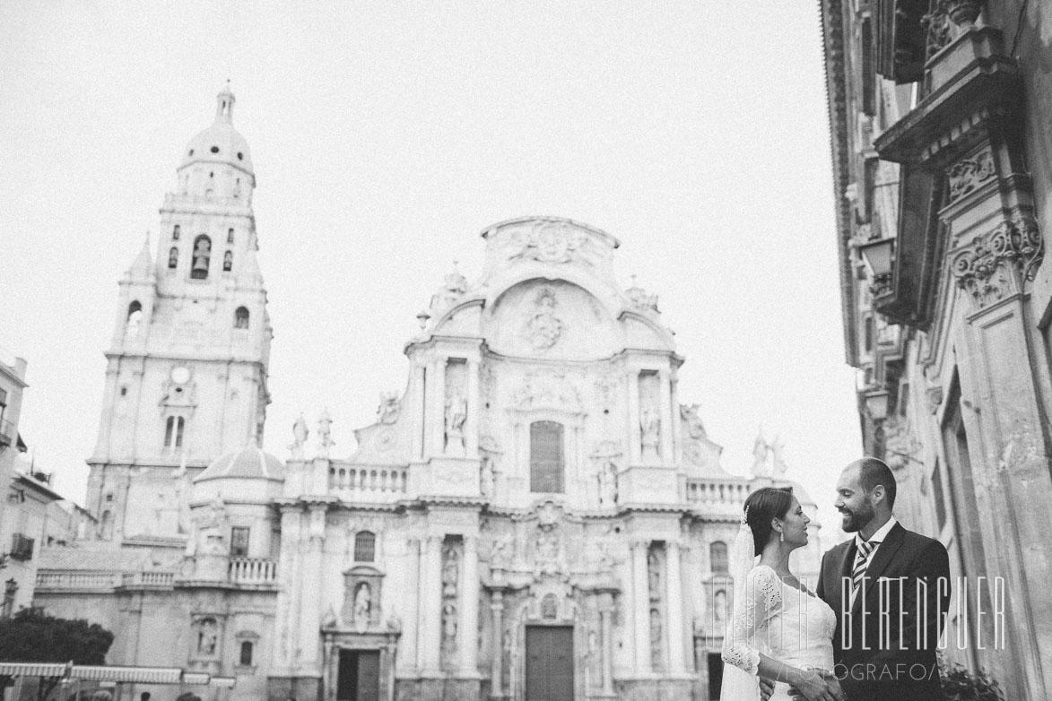 Fotos de Fotografos de Boda en La Catedral de Murcia