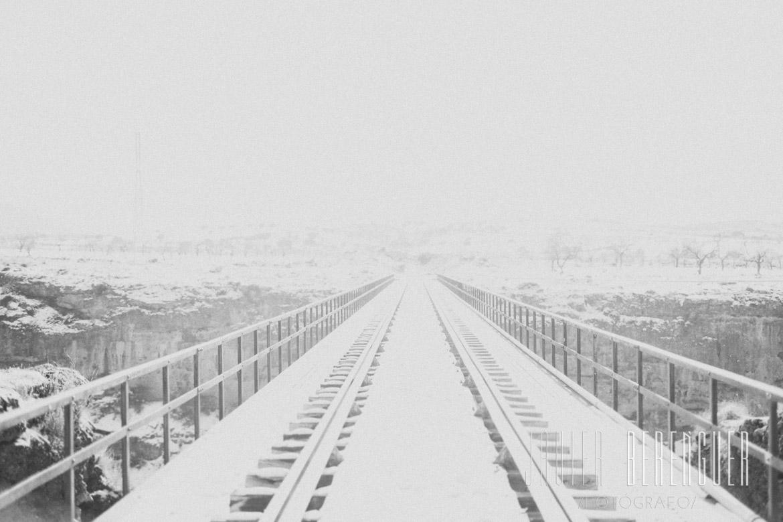 Reportaje de Fotos Post-Boda en La Nieve -