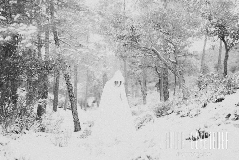 Reportaje de Fotos Post-Boda en La Nieve - 12