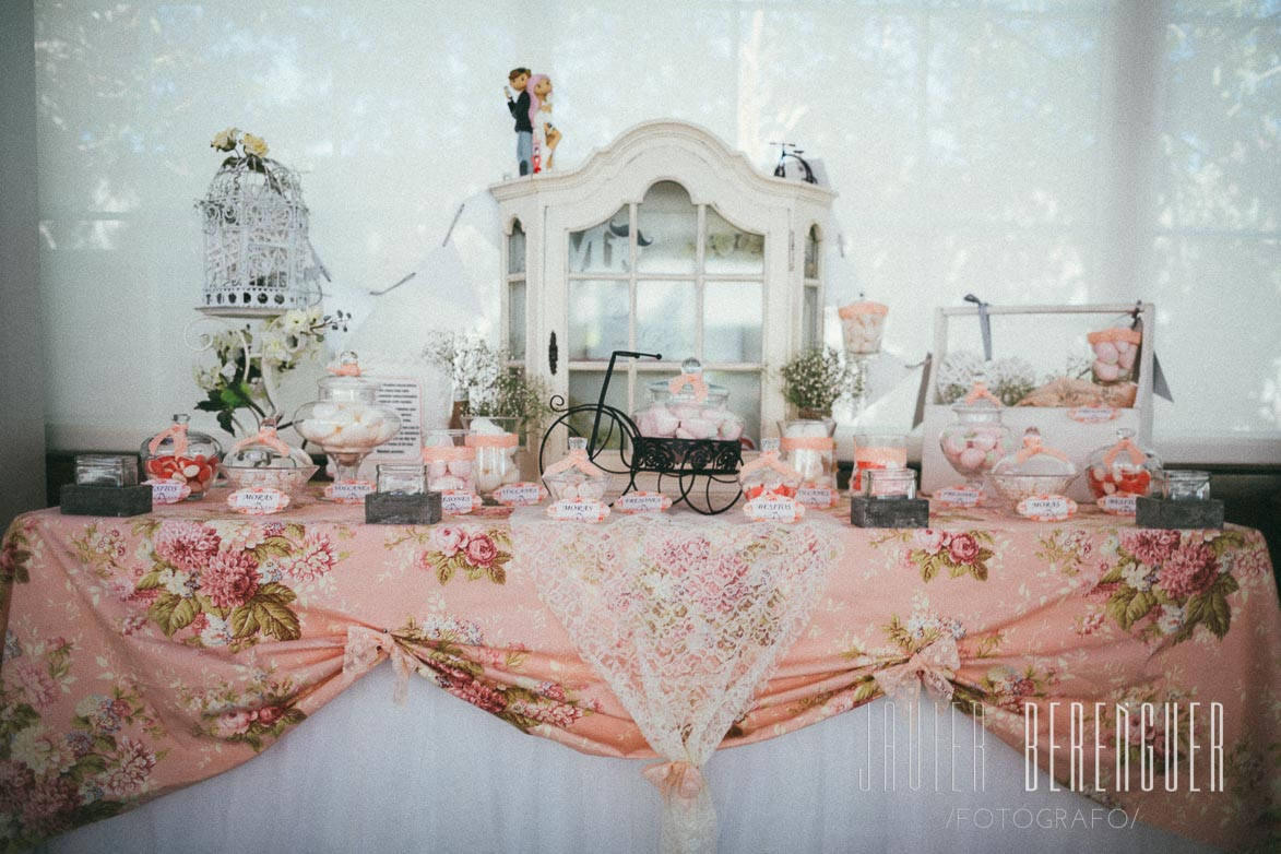 Candy Bar para bodas en Alicante