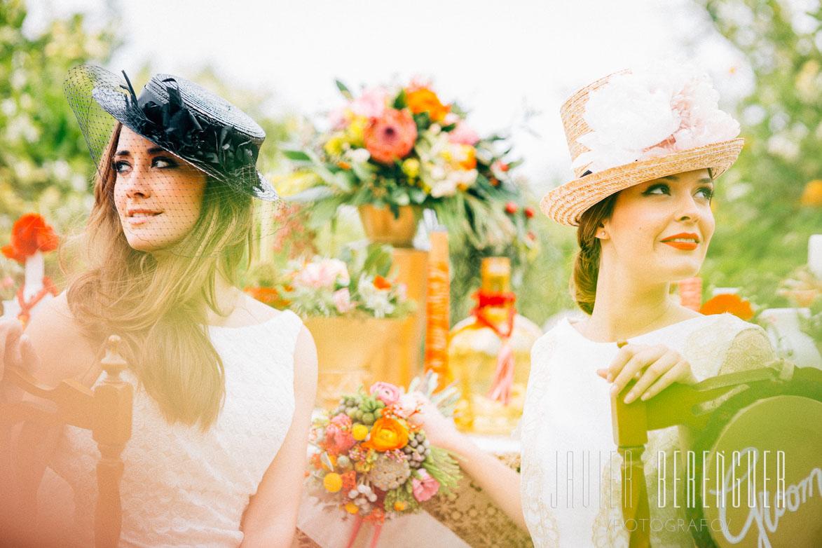 Sombreros y Chisteras de Novia en Bodas