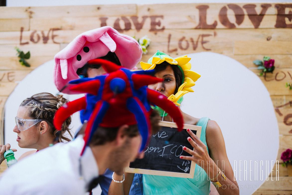 Photocall para bodas Elche
