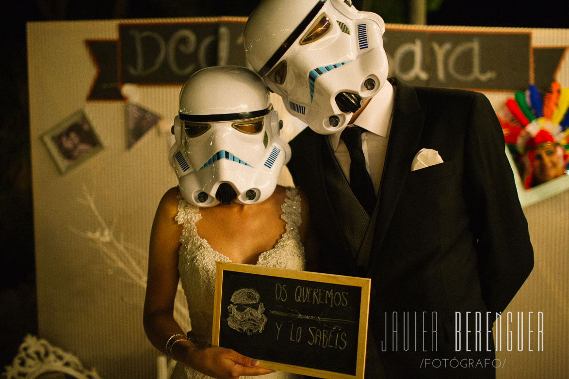 Photocall Boda Star Wars