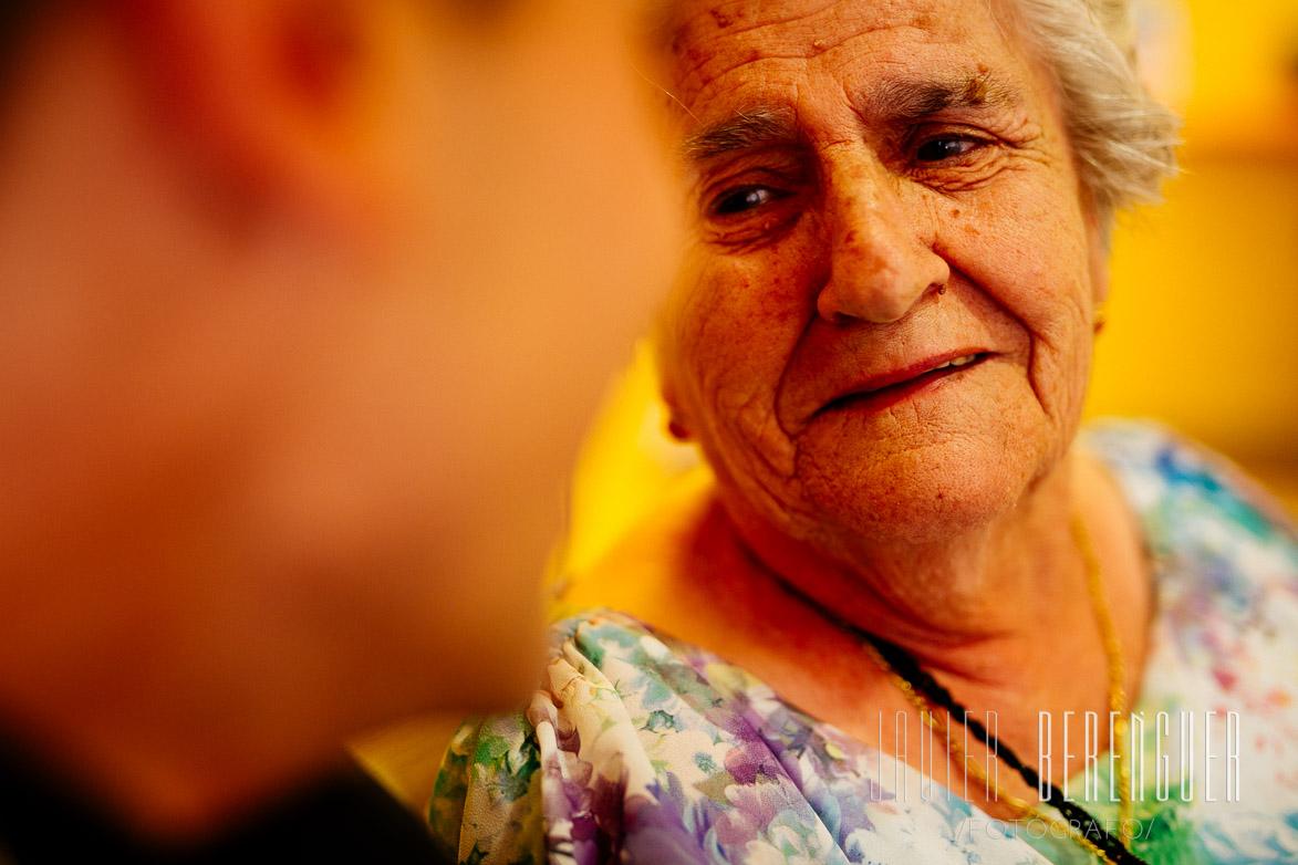 Fotos con Abuela en Boda