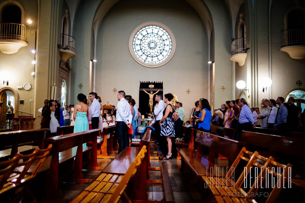 Fotos Boda Iglesia Corazon de Jesus Elche Alicante