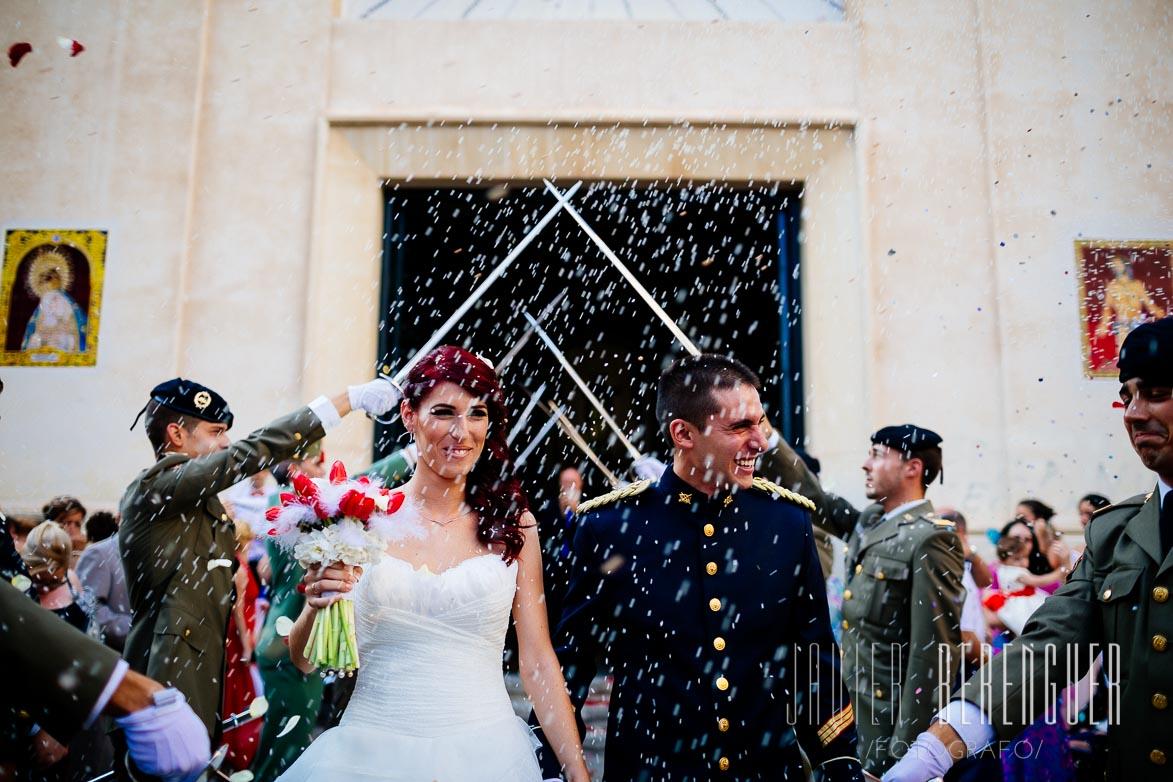 Fotos Boda Militar Elche Alicante Valencia