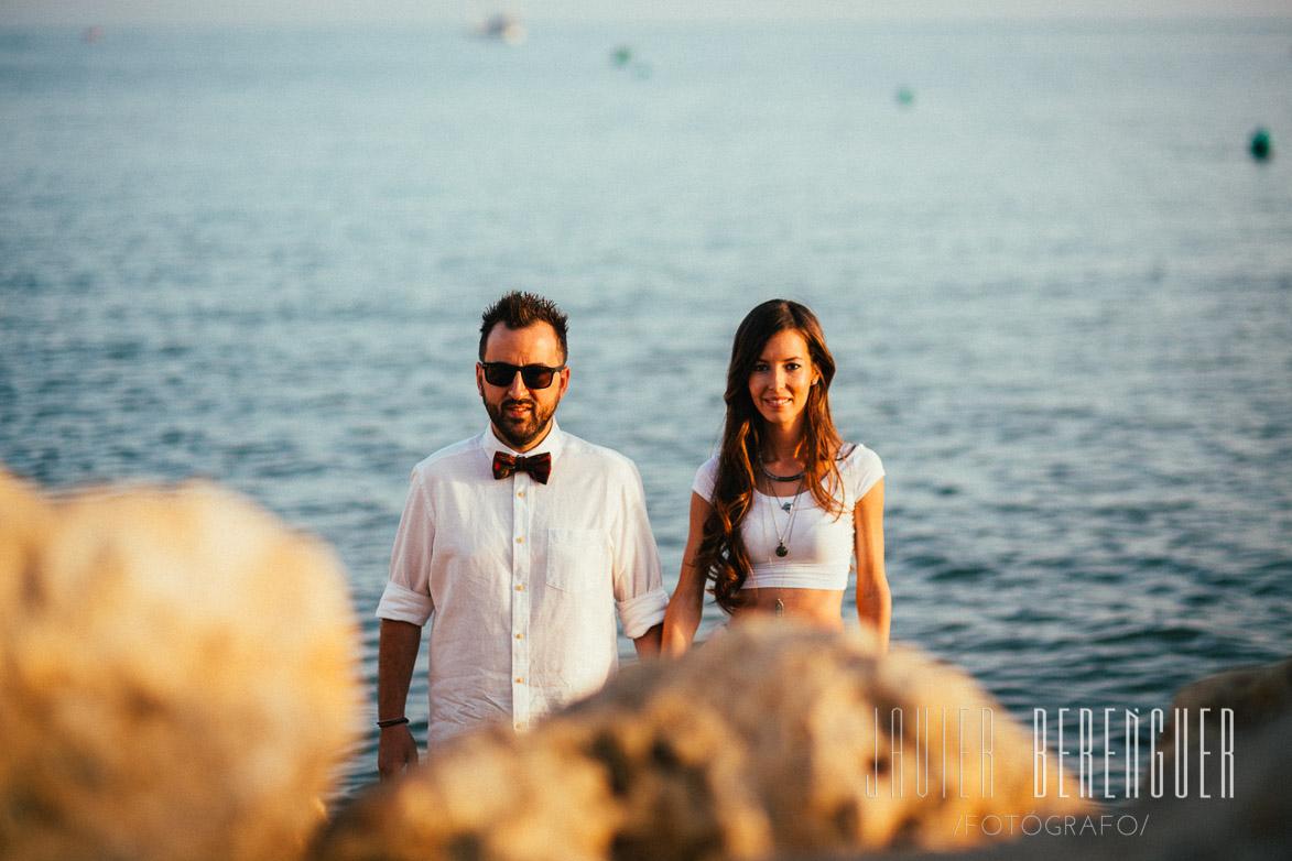 Fotógrafos Pre Boda Playa Elche Alicante