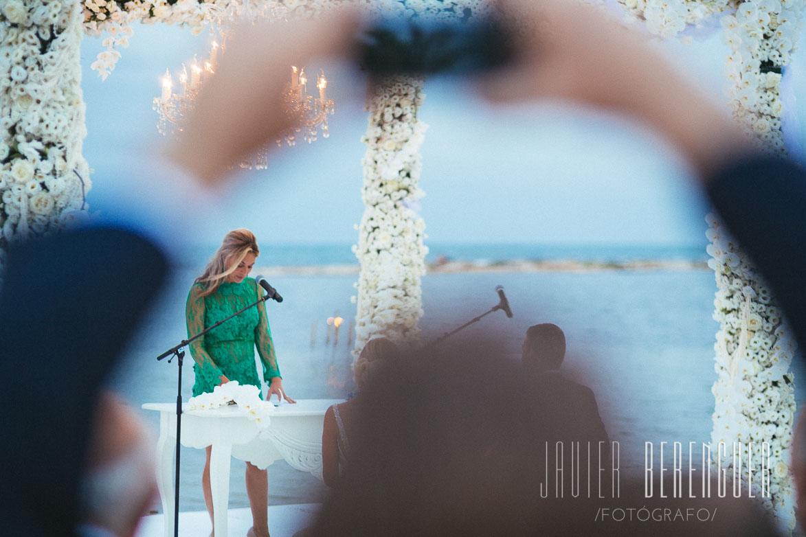 Fotógrafo Boda Collados Beach La Manga Mar Menor