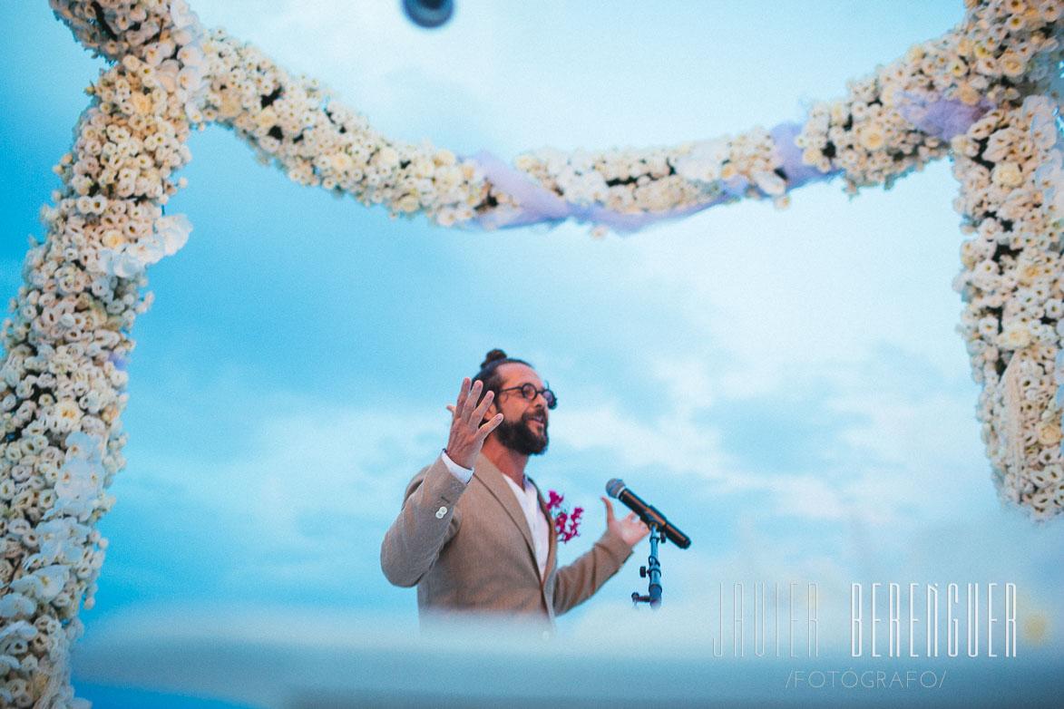 Arco para Boda de Flores Collados Beach La Manga Mar Menor Murcia