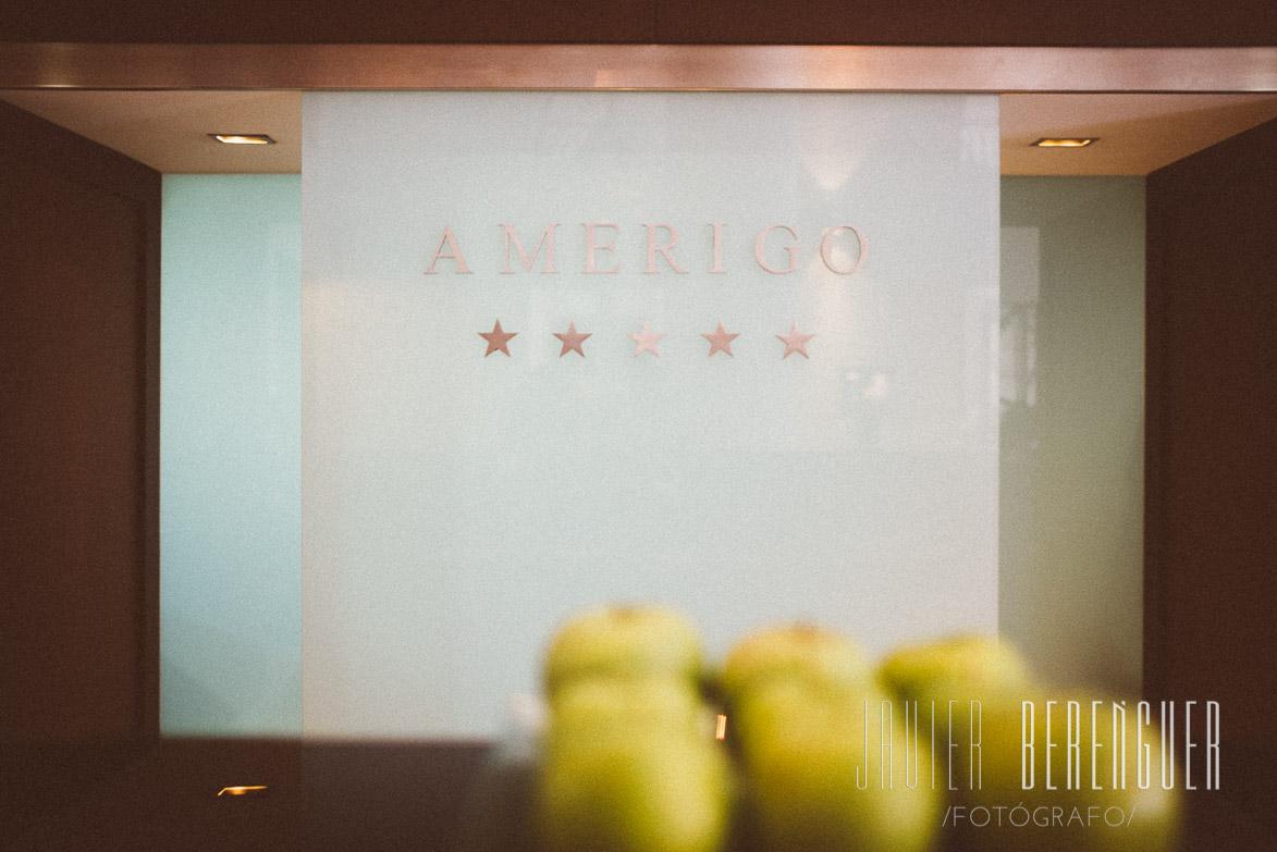 Fotos de Fotógrafos en Hotel Amerigo Alicante