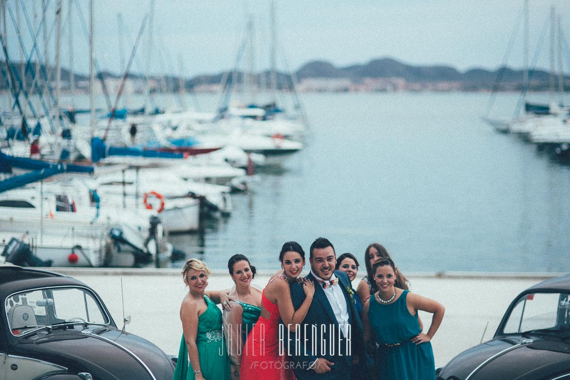 Fotografo Boda Club Nautico 2 Mares La Manga del Mar Menor