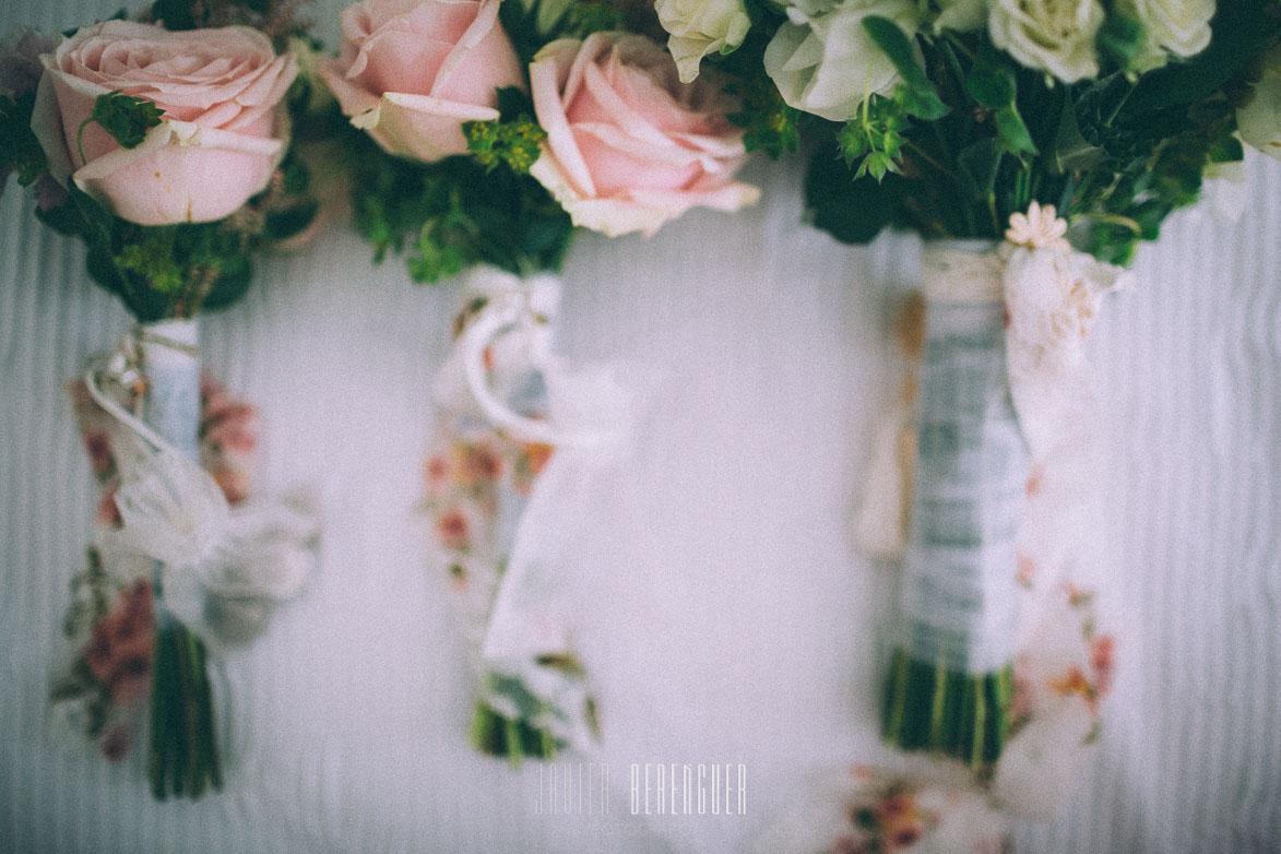 Ramo novia y damitas de honor