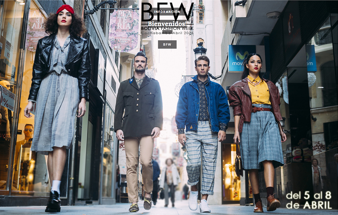LookBook Promocional Bolivia Fashion Week BFW 1-2