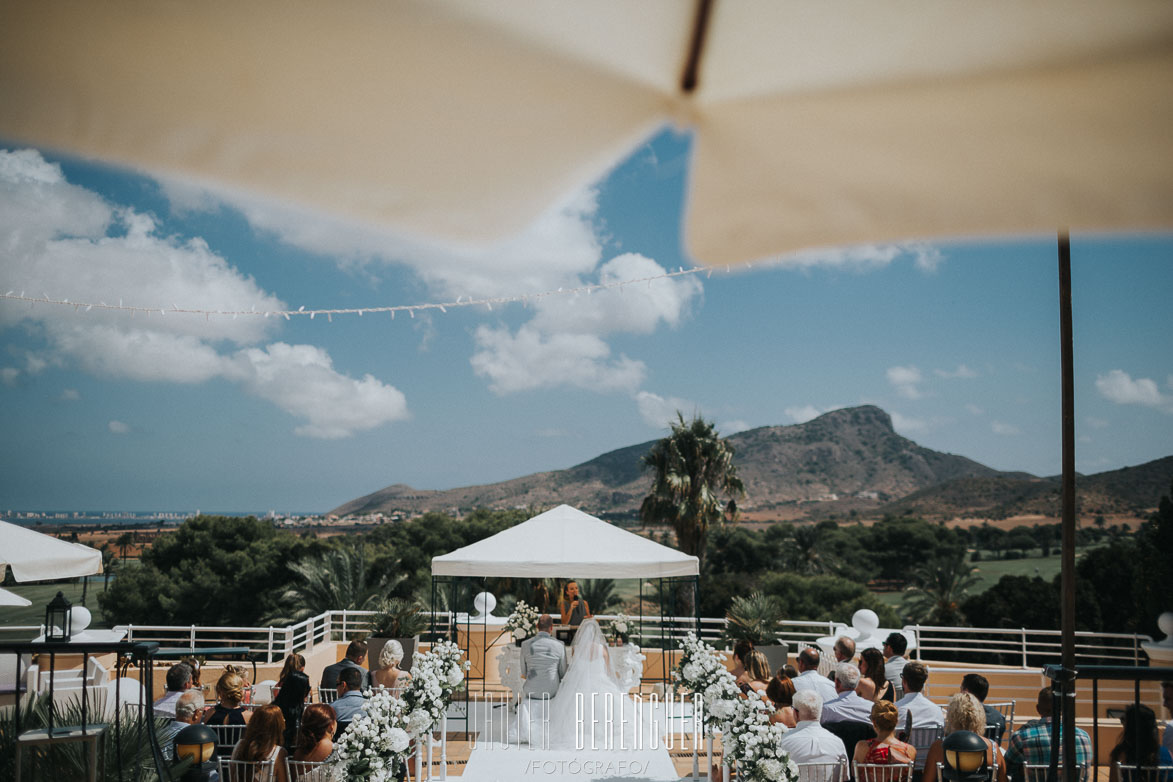Wedding Photographer Hotel Principe Felipe Murcia Spain La Manga Club