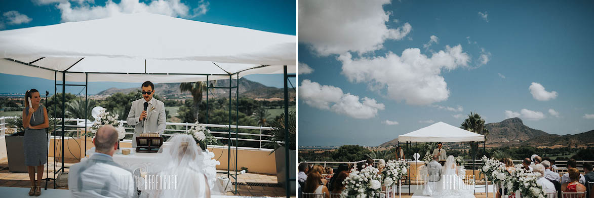 Wedding Photographer Hotel Principe Felipe Murcia Spain La Manga Club