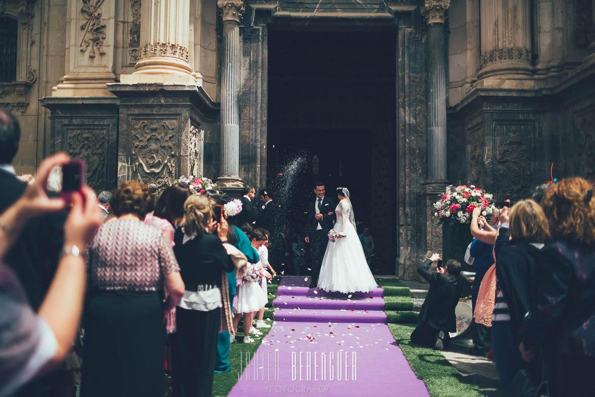 Fotos de Boda en Catedral de Murcia