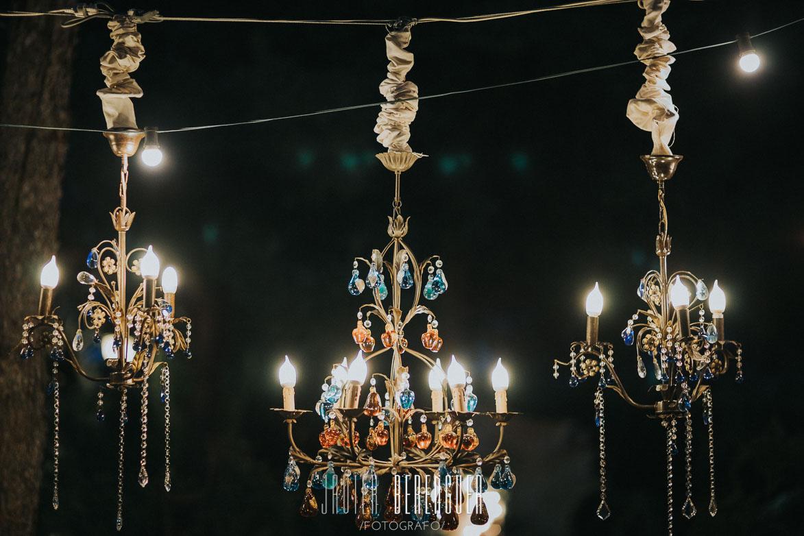 Ideas para Iluminación con Lamparas para Boda