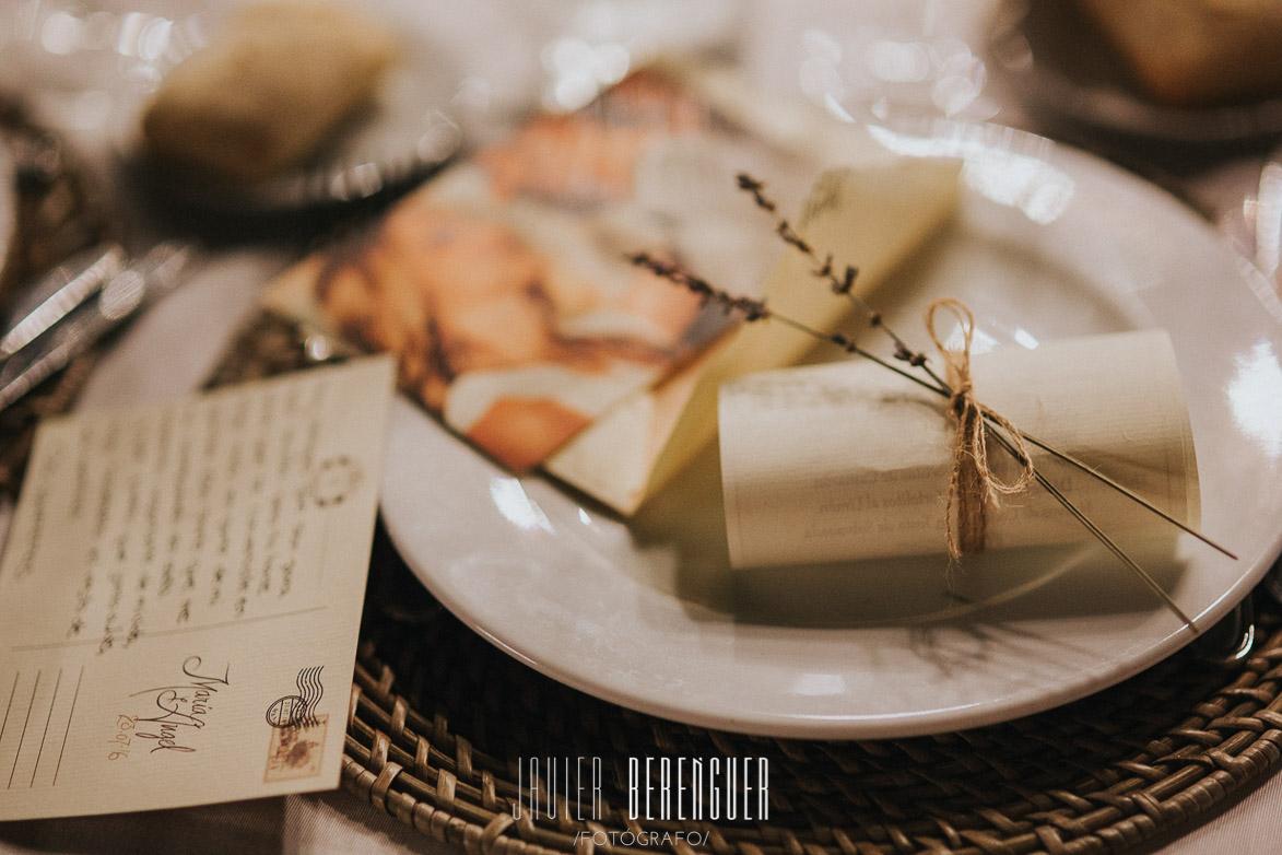 tarjetas de agradecimiento en bodas