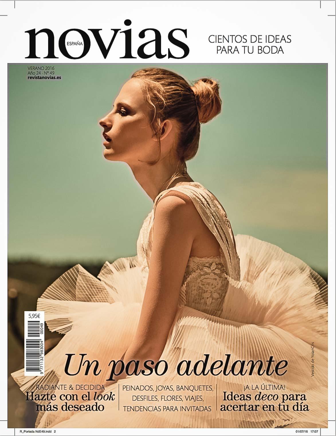 Publicacion en Revista Novias España-1