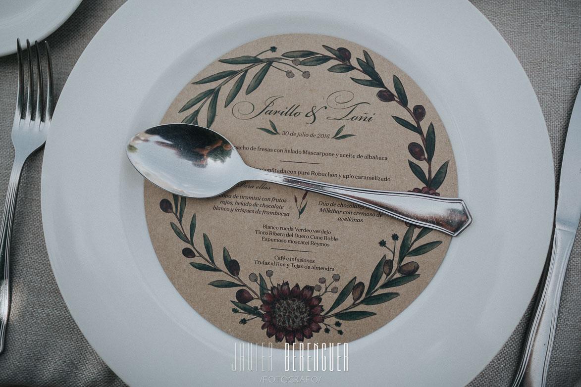 Papelería para boda Malaga