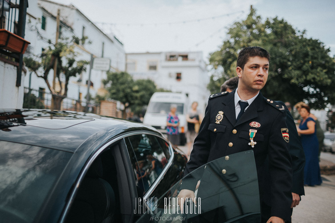 Fotos Boda Cuerpo de Policia Nacional en Ronda Malaga