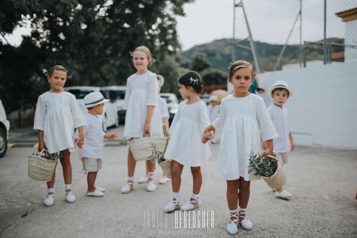 Ideas para Vestir Niños Pajes Anillos Boda