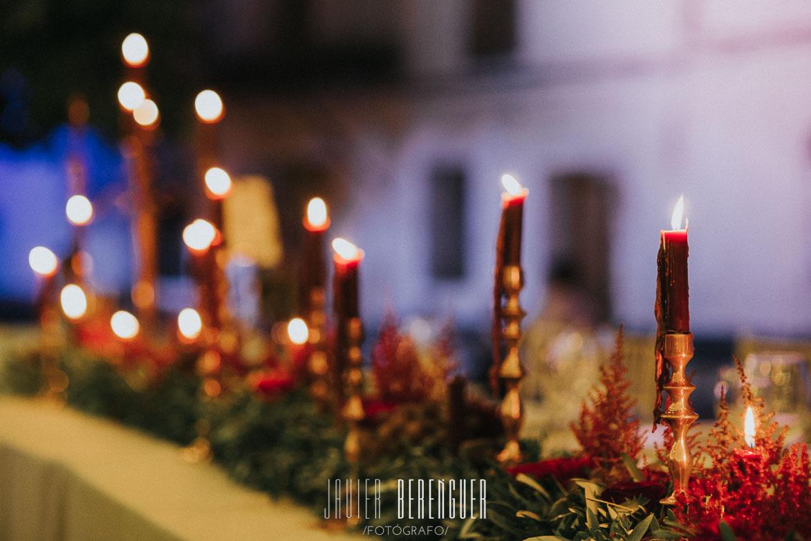 Fotos Decoración Con Velas para Boda Marbella Malaga