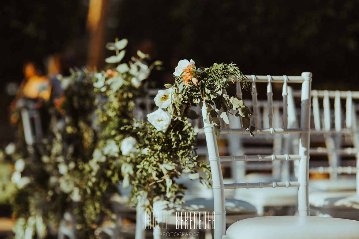 Silla Tiffany Blanca para Ceremonia Civil