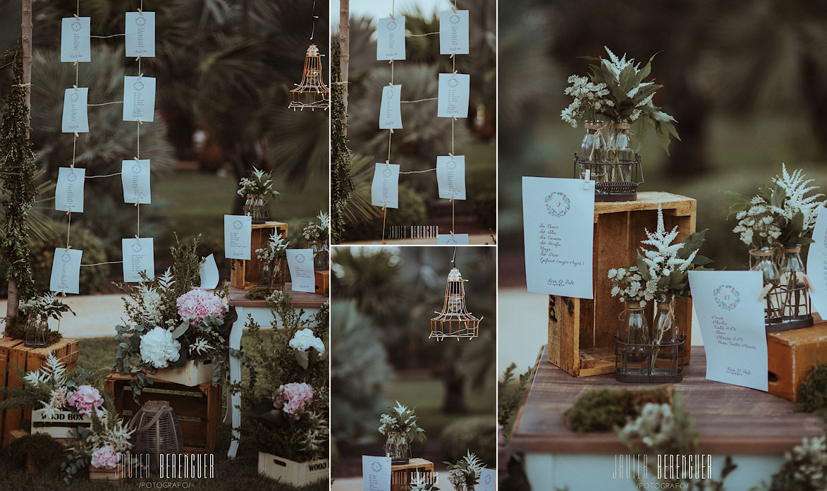 Fotos decoracion Boda Finca El Torrero