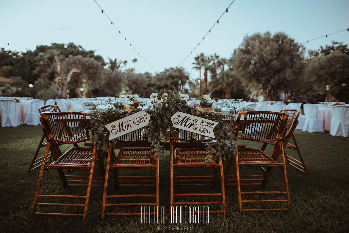 Fotos sillas de Bambu en Bodas Alquiler para eventos Armony