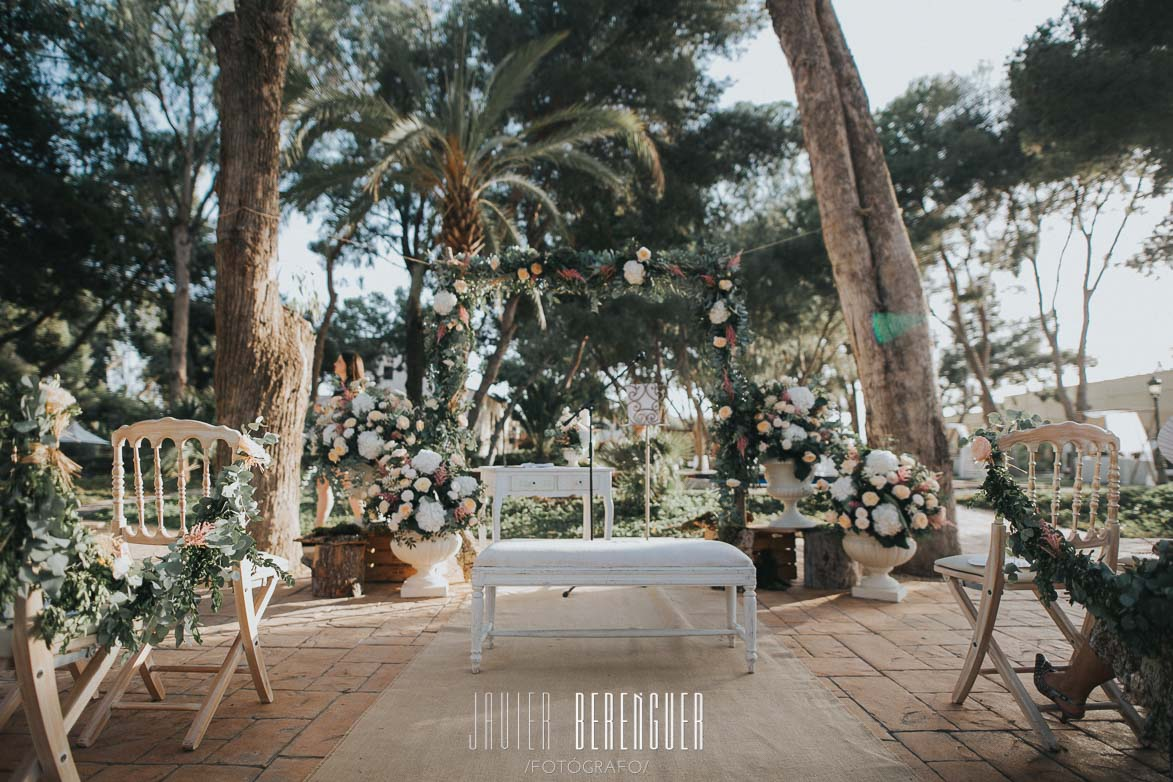 Decoración Bodas Wedding Planner Fincas Alicante Torre Bosch