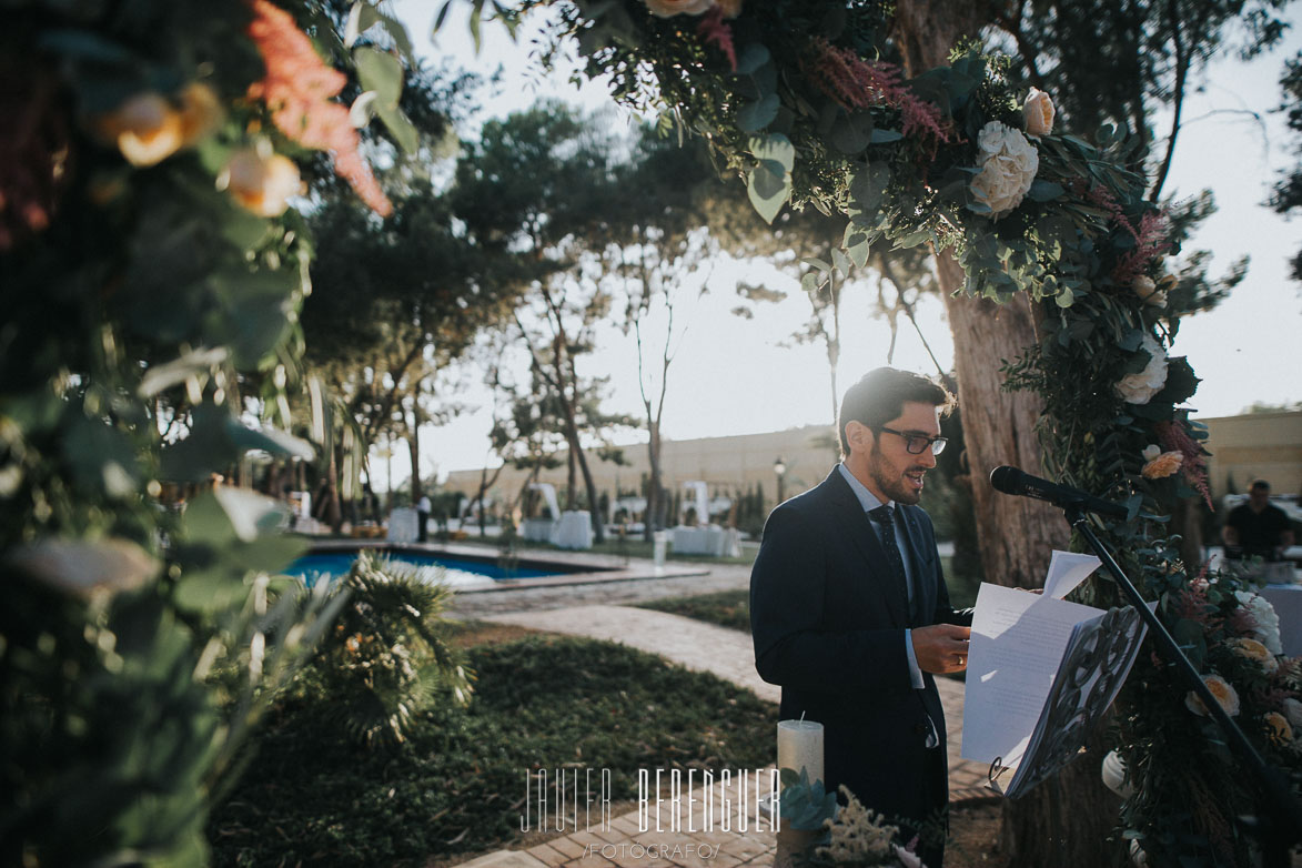 Ceremoniante para boda civil en alicante