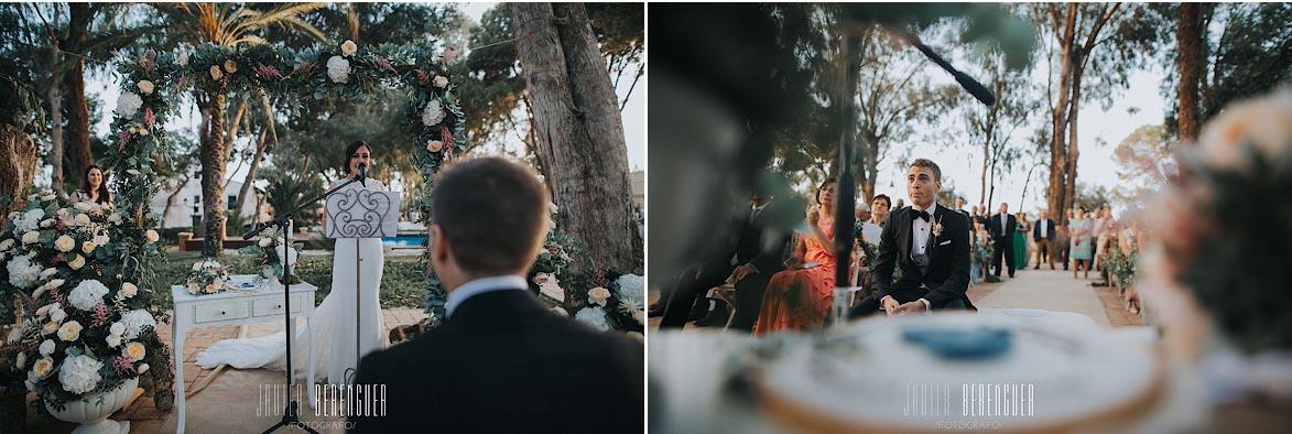 Oficiantes para boda Alicante