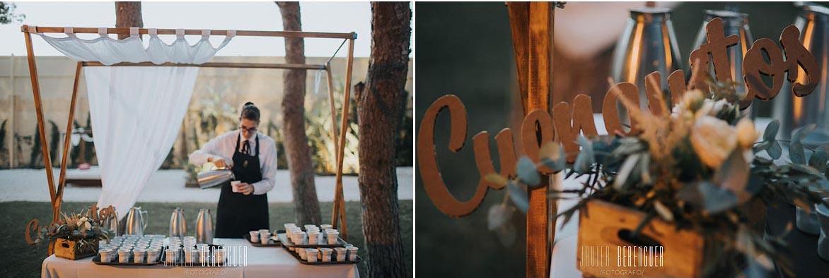 Ideas para puestos de Comida para bodas