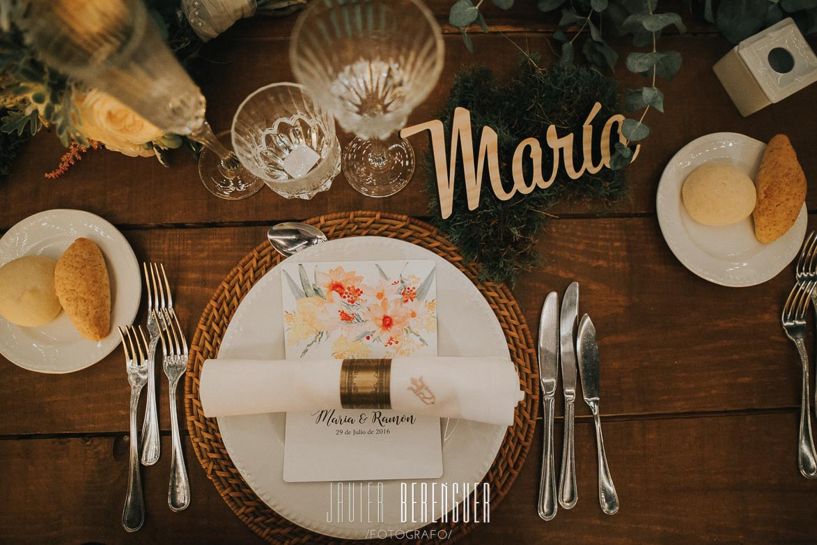 Decoración Bodas Wedding Planner Catering Juan XIII Fincas Alicante Torre Bosch