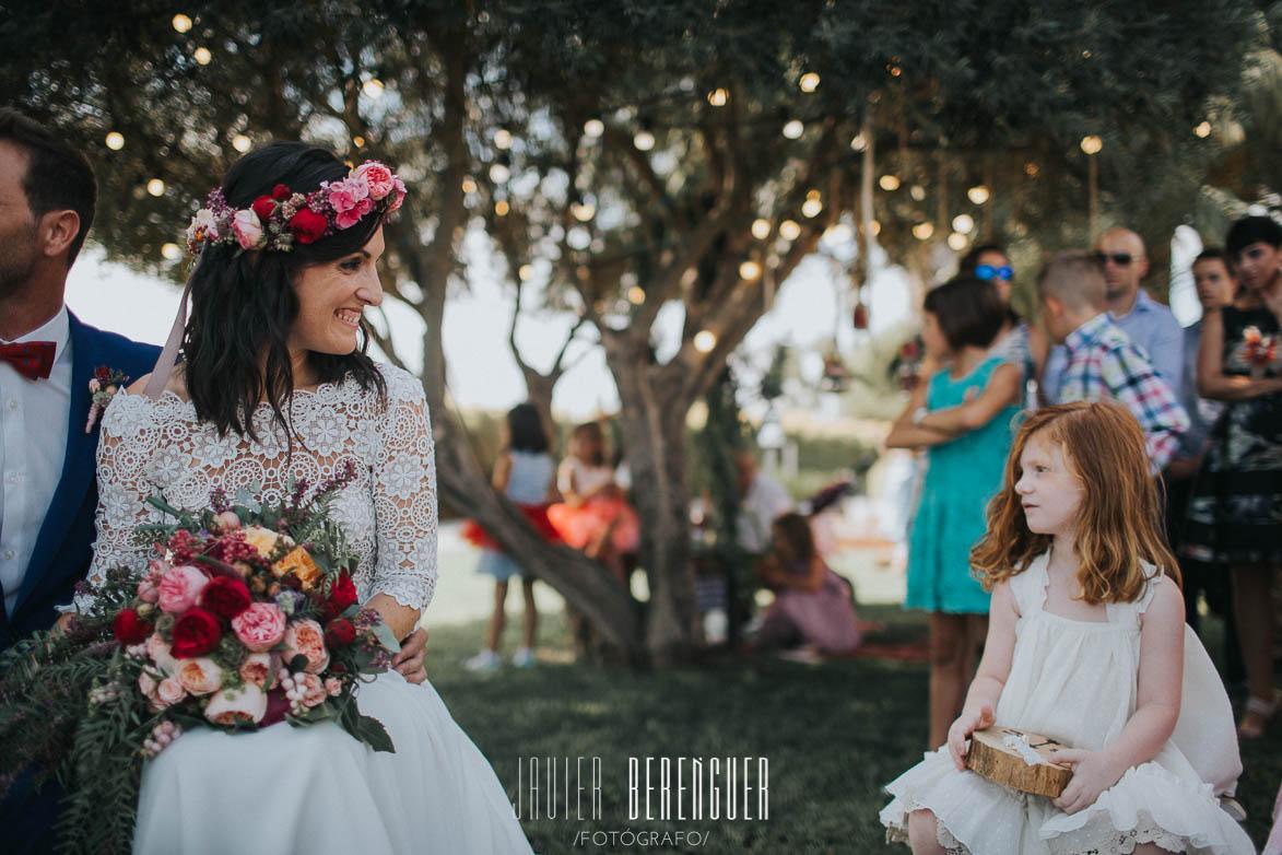 Fotos emotivas de boda madre e hija
