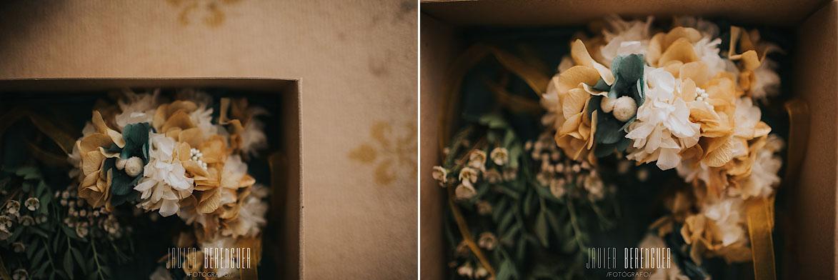 Coronas de Flores para Novia La Trastienda Floristería