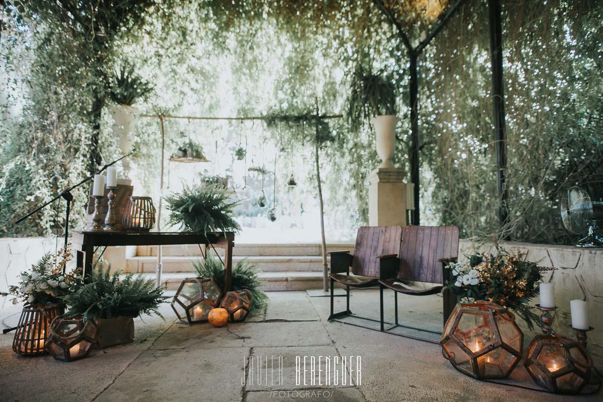 Fotos Decoración de Bodas en Jardines de Abril Wedding Planner Alicante