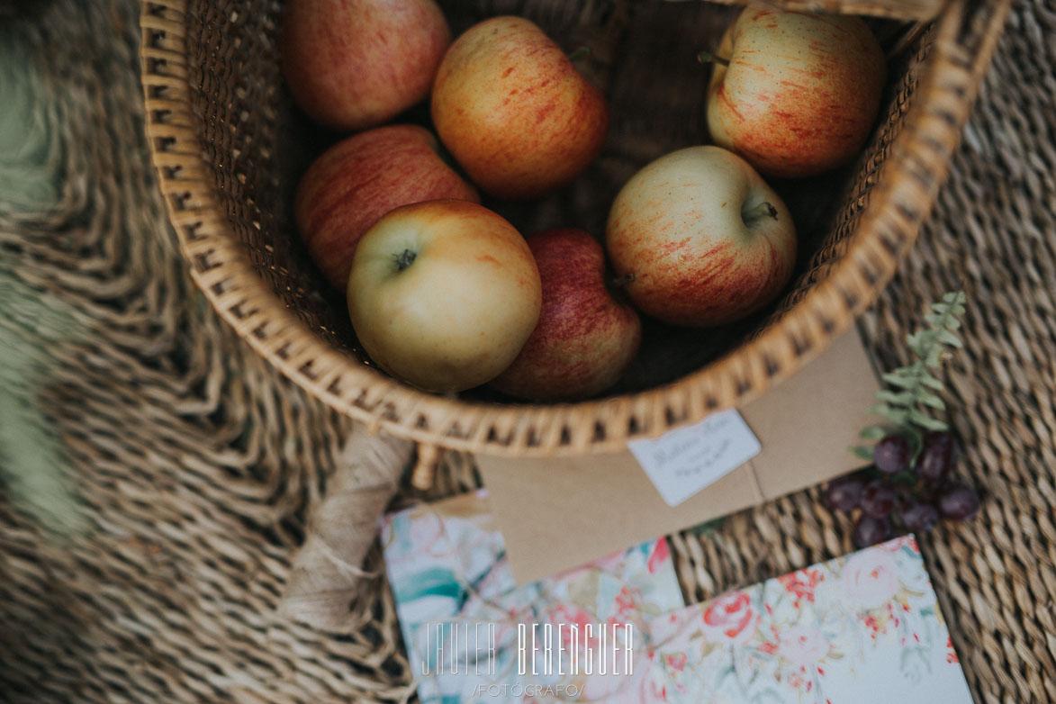 Decoración de bodas con manzanas