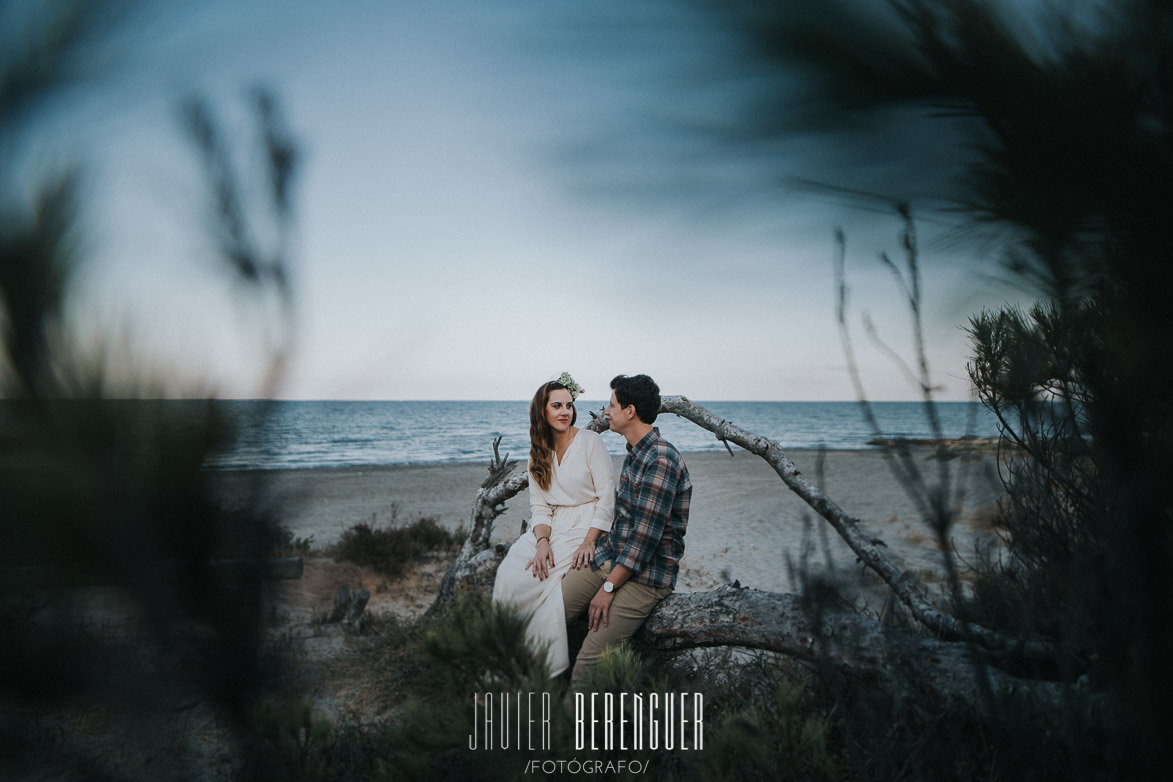 PreBoda con Decoración Boho Chic en Playa Wedding Photographer
