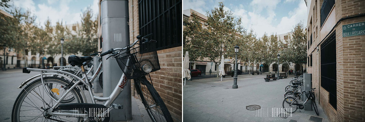 Bici Elx Plaza del Rabal