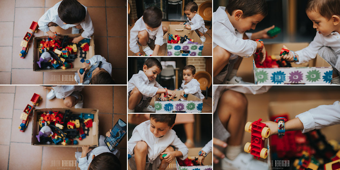 Fotos de Niños jugando con Legos