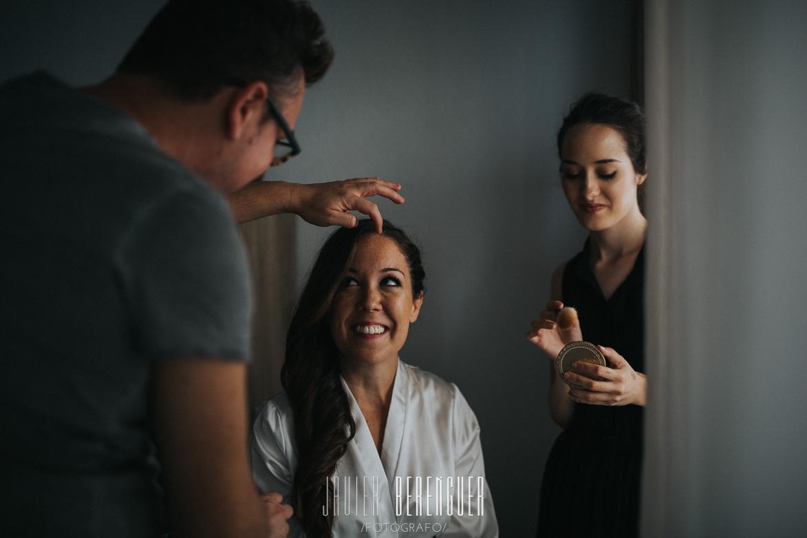 Maquilladora para bodas en alicante