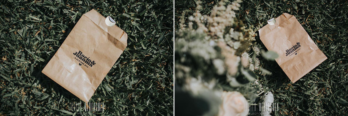 Detalles y kit para bodas