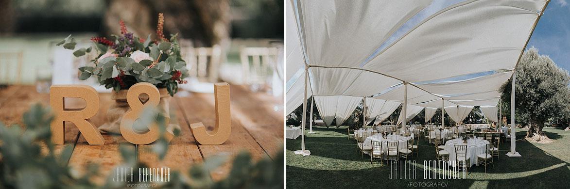 Detalles y carpas para bodas