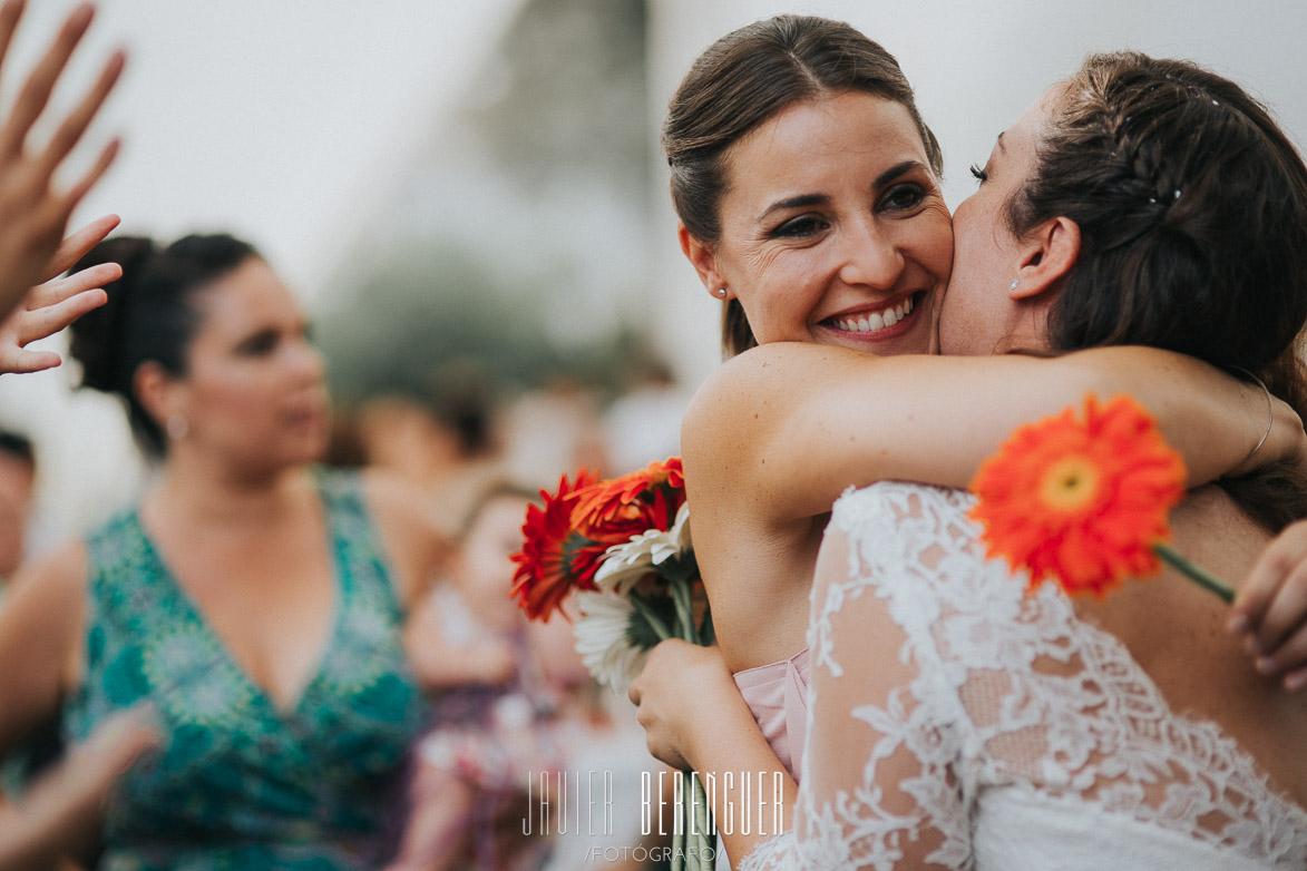 Entrega de regalos para bodas